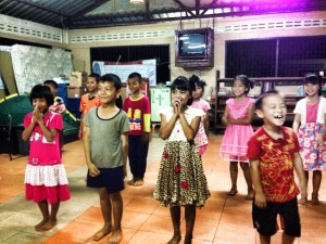 The younger children at the Akha Youth Intervention Center